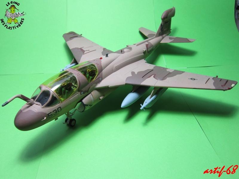 EA-6B Prowler [1/48° de ITALERI] Rajout de photos avec le A6 intruder Img_5412