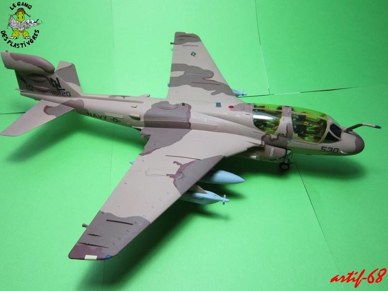 EA-6B Prowler [1/48° de ITALERI] Rajout de photos avec le A6 intruder Img_5414