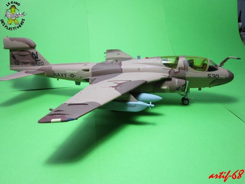 EA-6B Prowler [1/48° de ITALERI] Rajout de photos avec le A6 intruder Img_5415
