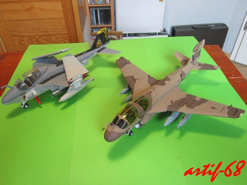 EA-6B Prowler [1/48° de ITALERI] Rajout de photos avec le A6 intruder Img_5416