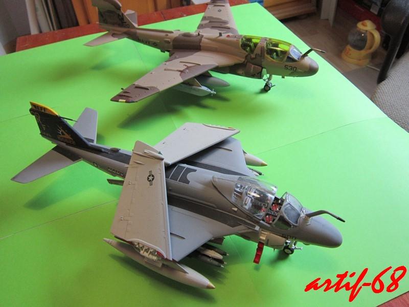 EA-6B Prowler [1/48° de ITALERI] Rajout de photos avec le A6 intruder Img_5417