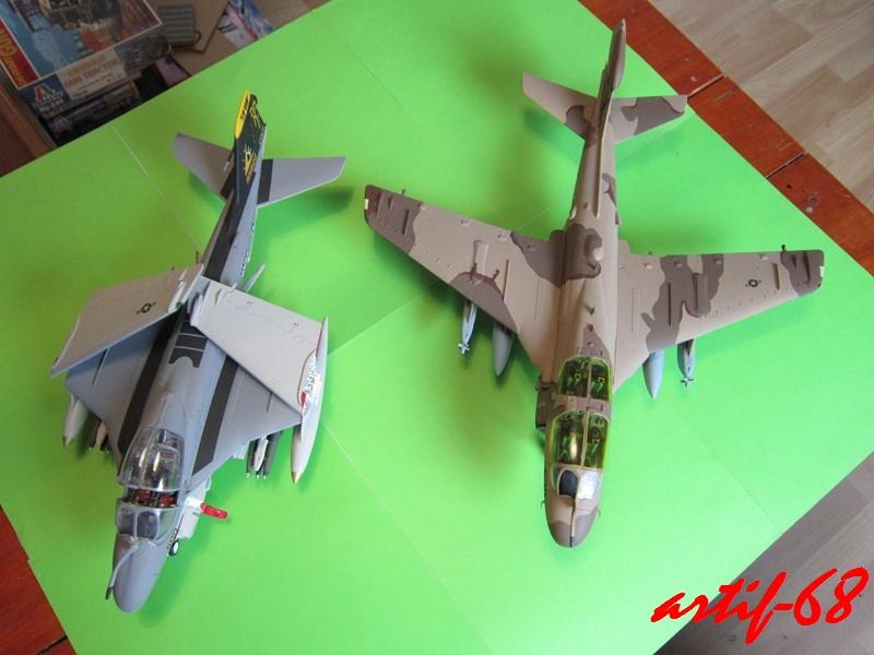 EA-6B Prowler [1/48° de ITALERI] Rajout de photos avec le A6 intruder Img_5418