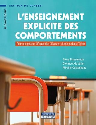 [Livre] L'enseignement explicite des comportements de S.Bissonnette, C.Gauthier, M.Castonguay Ensexp10