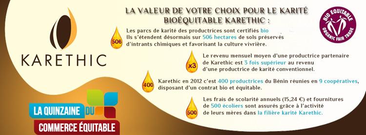 Karethic,  velouté de karité mangue, soin cocon Kareth10