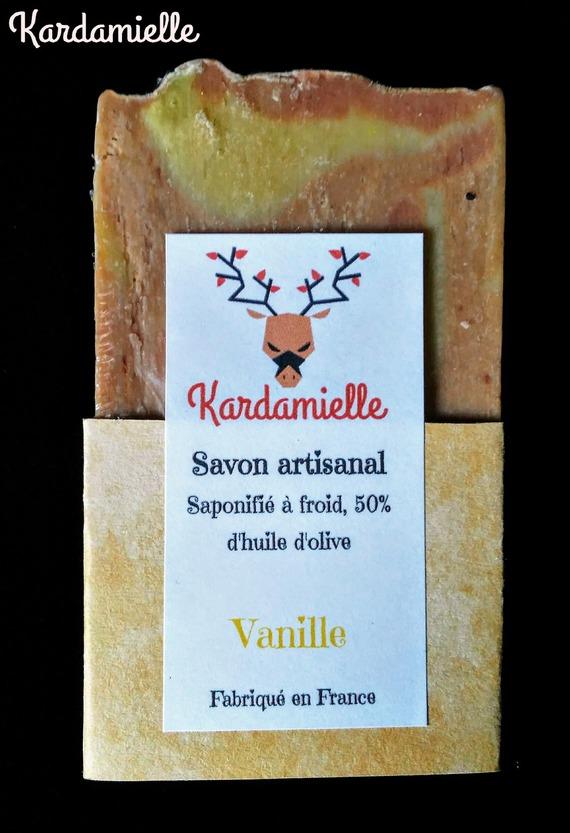 Test des savons saponifiés à froid de Kardamielle  Soin-s11