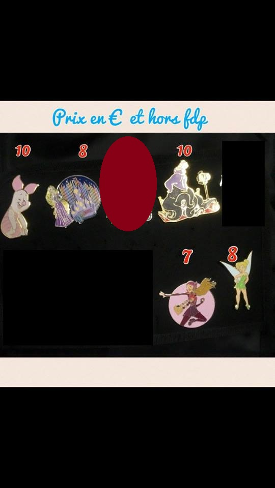 [Vente - Recherche] pin's disney / pin trading  (TOPIC UNIQUE) - Page 14 16299110