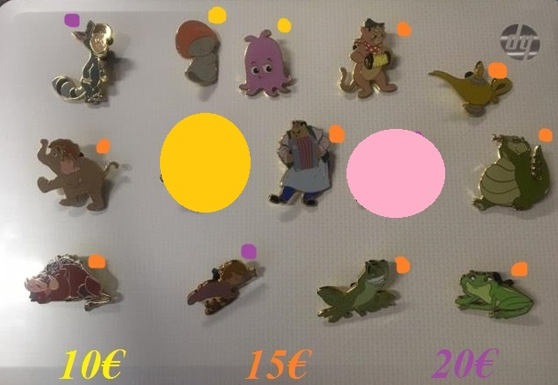 [Vente - Recherche] pin's disney / pin trading  (TOPIC UNIQUE) - Page 14 Ventes32