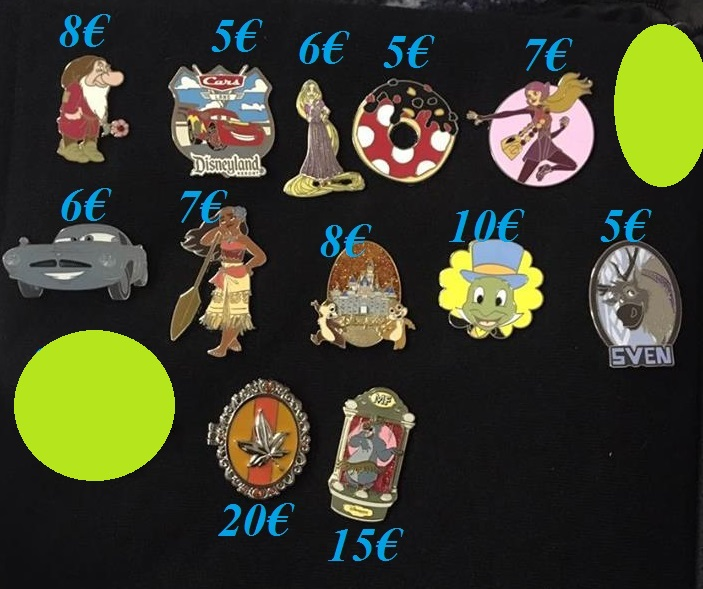 [Vente - Recherche] pin's disney / pin trading  (TOPIC UNIQUE) - Page 14 Ventes33