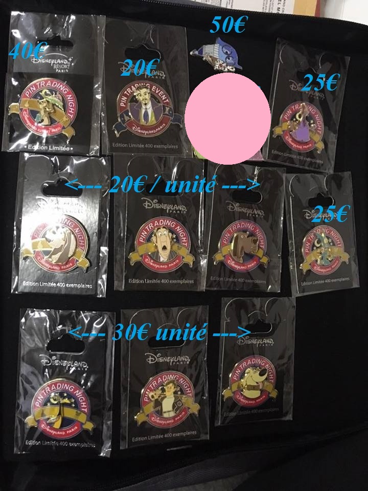 [Vente - Recherche] pin's disney / pin trading  (TOPIC UNIQUE) - Page 14 Ventes36