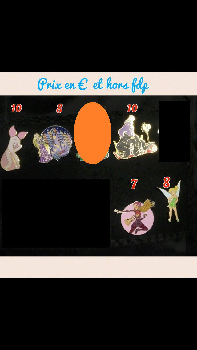 [Vente - Recherche] pin's disney / pin trading  (TOPIC UNIQUE) - Page 14 Ventes37