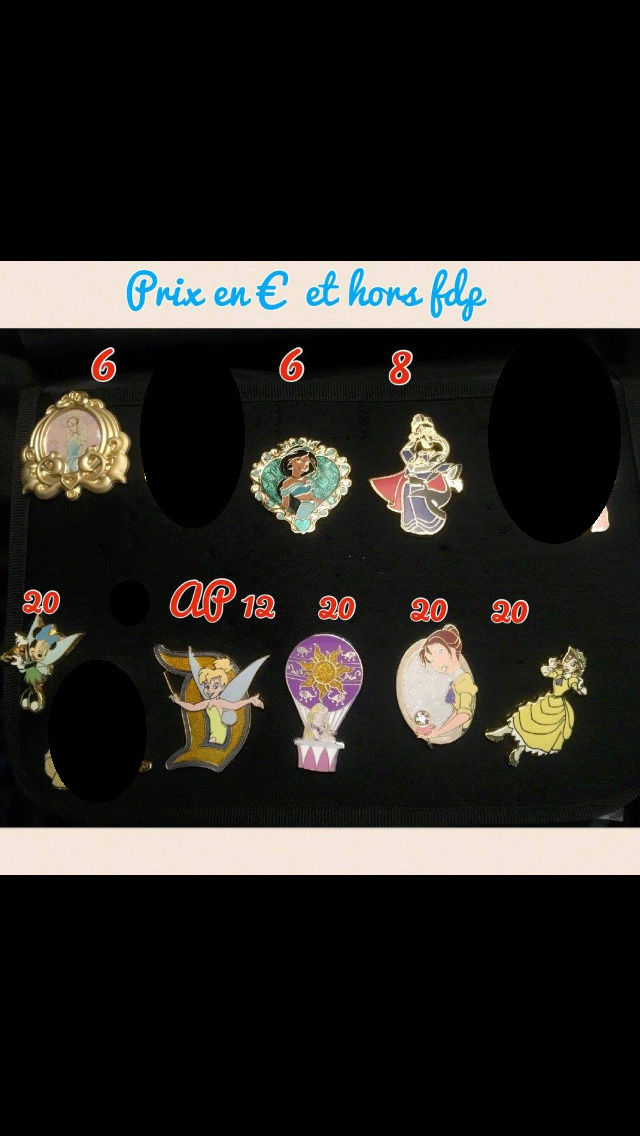 [Vente - Recherche] pin's disney / pin trading  (TOPIC UNIQUE) - Page 14 Ventes38