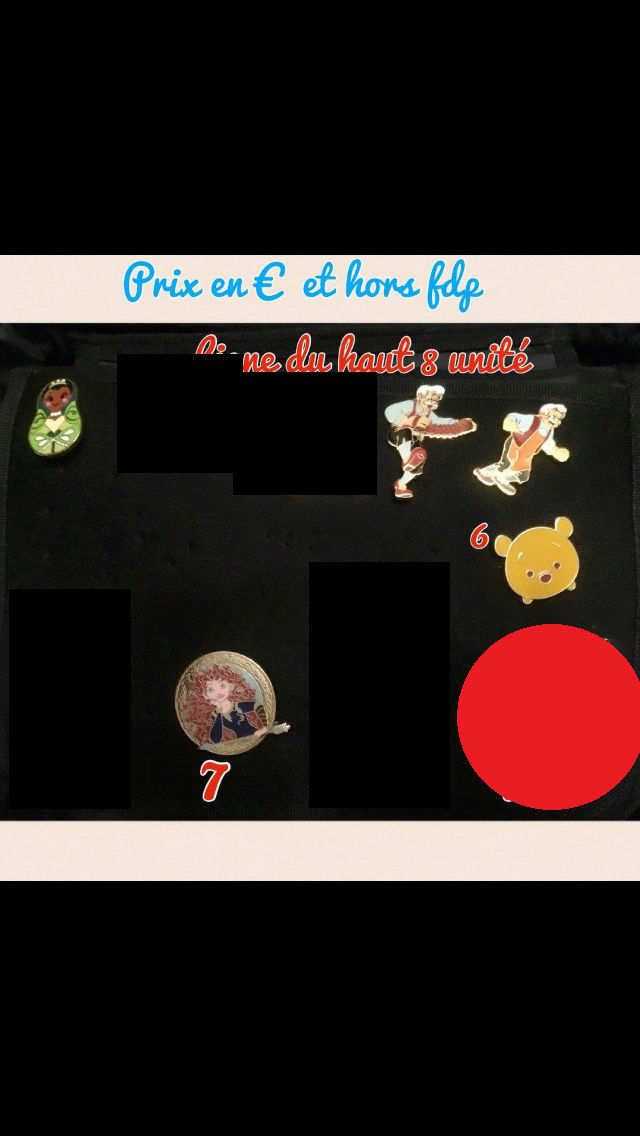 [Vente - Recherche] pin's disney / pin trading  (TOPIC UNIQUE) - Page 14 Ventes40