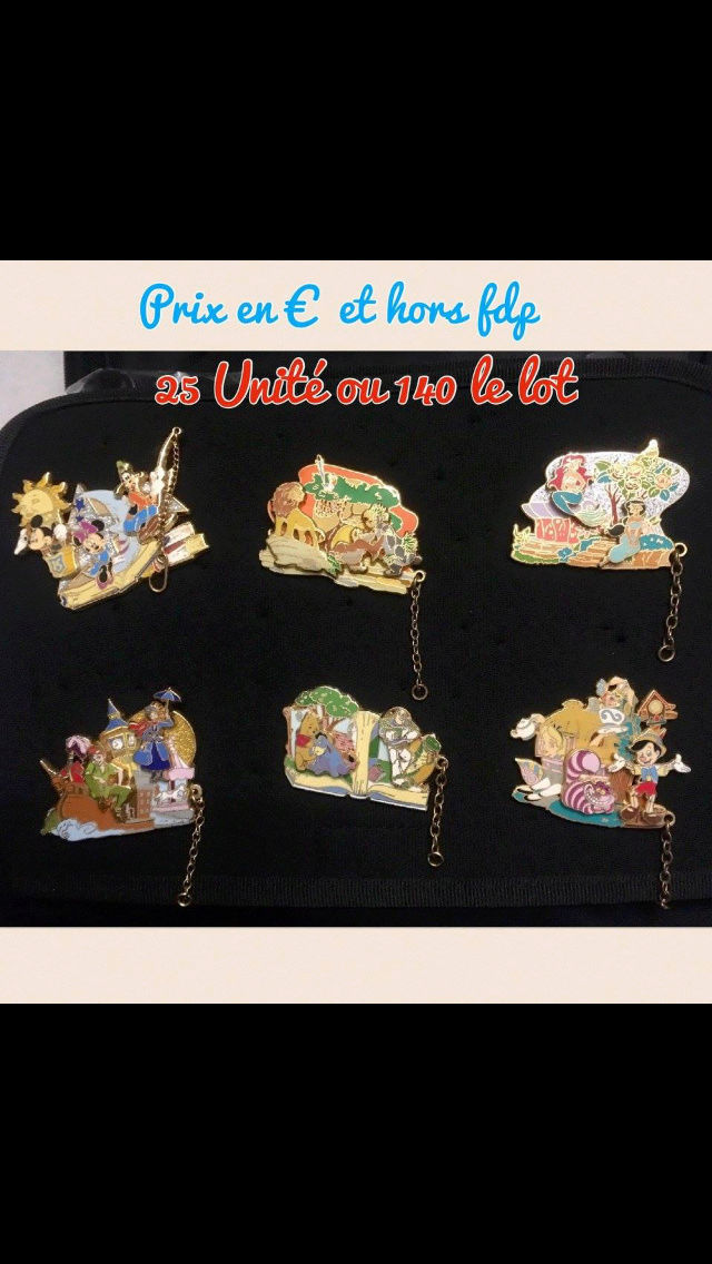 [Vente - Recherche] pin's disney / pin trading  (TOPIC UNIQUE) - Page 14 Ventes42