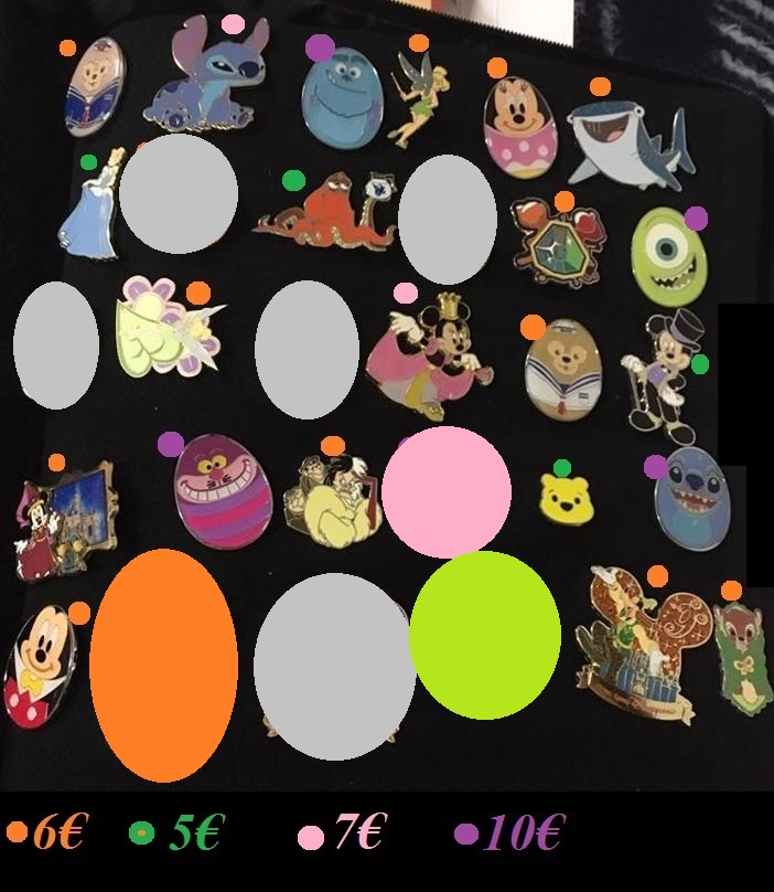 [Vente - Recherche] pin's disney / pin trading  (TOPIC UNIQUE) - Page 14 Ventes44