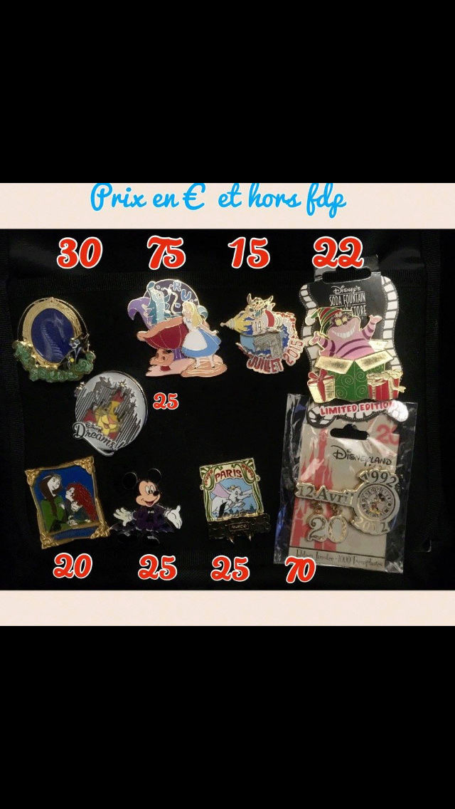 [Vente - Recherche] pin's disney / pin trading  (TOPIC UNIQUE) - Page 14 Ventes45