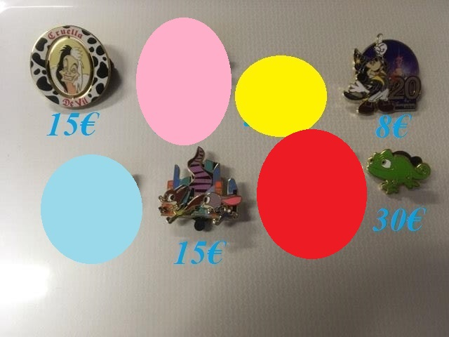 [Vente - Recherche] pin's disney / pin trading  (TOPIC UNIQUE) - Page 14 Ventes46