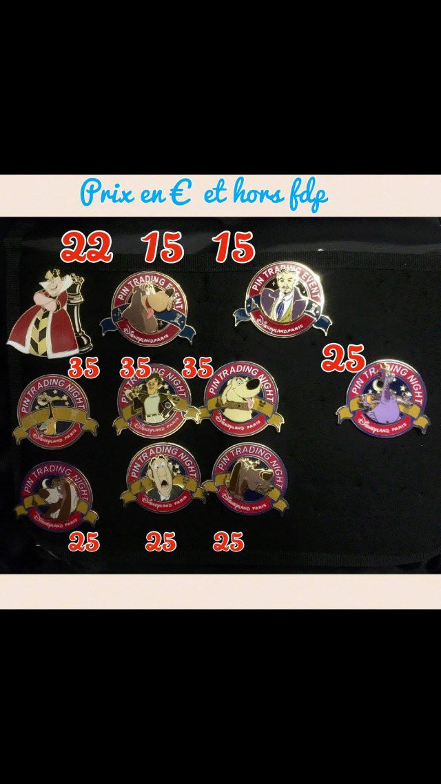 [Vente - Recherche] pin's disney / pin trading  (TOPIC UNIQUE) - Page 14 Ventes49
