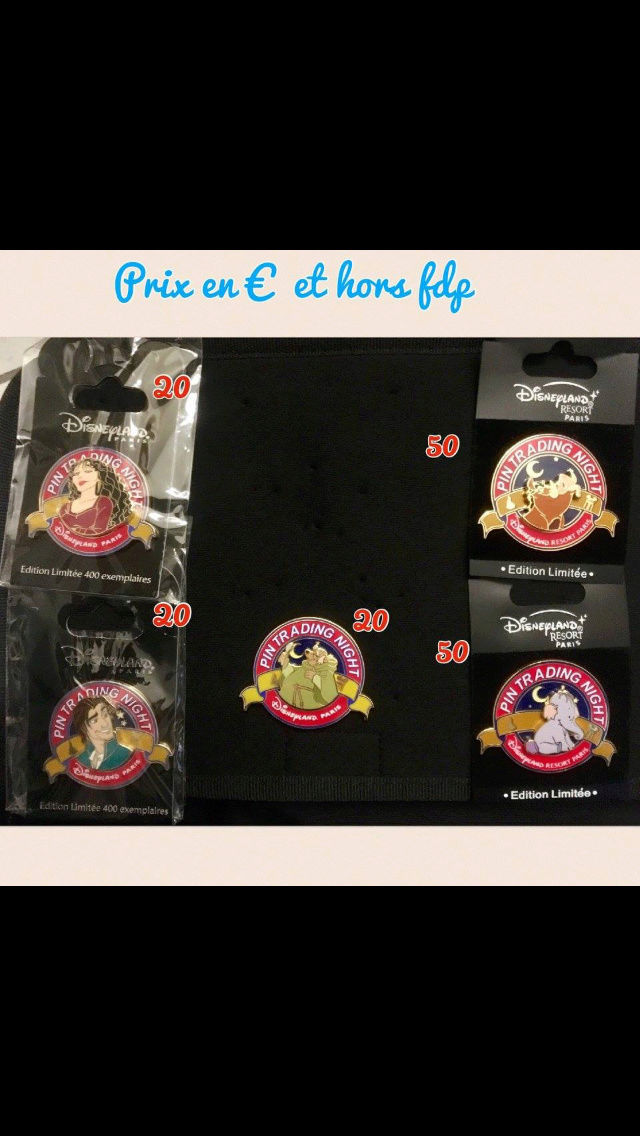 [Vente - Recherche] pin's disney / pin trading  (TOPIC UNIQUE) - Page 14 Ventes50