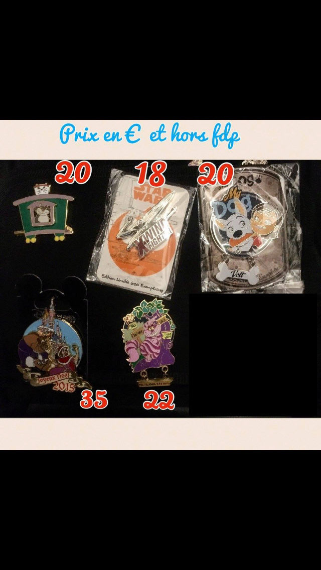 [Vente - Recherche] pin's disney / pin trading  (TOPIC UNIQUE) - Page 14 Ventes51
