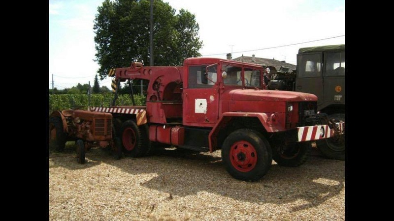 CAMION GRUE REO 6X6 2.5 TONNES M60, M108 15542310