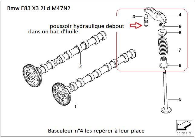 [ Bmw X3 E83 2.0 D M47N2 an 2004 ] Calage distribution - Page 2 11_m4711