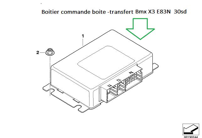 [ BMW X3 LCI 3.0sd an 2009 ] pignon moteur électrique boite transfert HS? 27_boi10