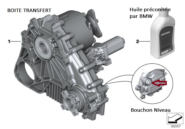 [ BMW X3 LCI 3.0sd an 2009 ] pignon moteur électrique boite transfert HS? 27_x3_10