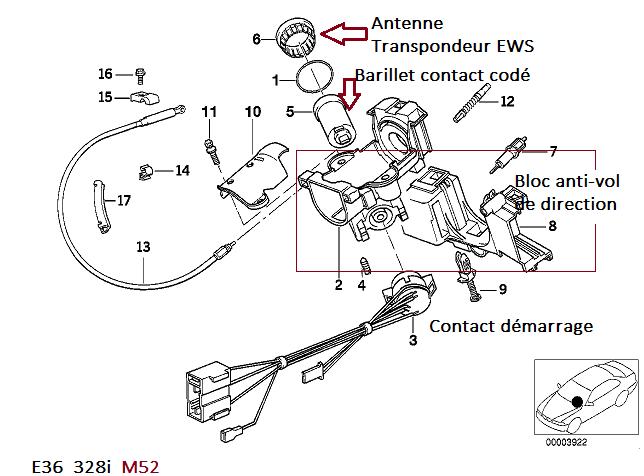 [ BMW E36 328I an 1996 ] neiman qui tourne dans le vide ( Abandonné ) 32_e3910