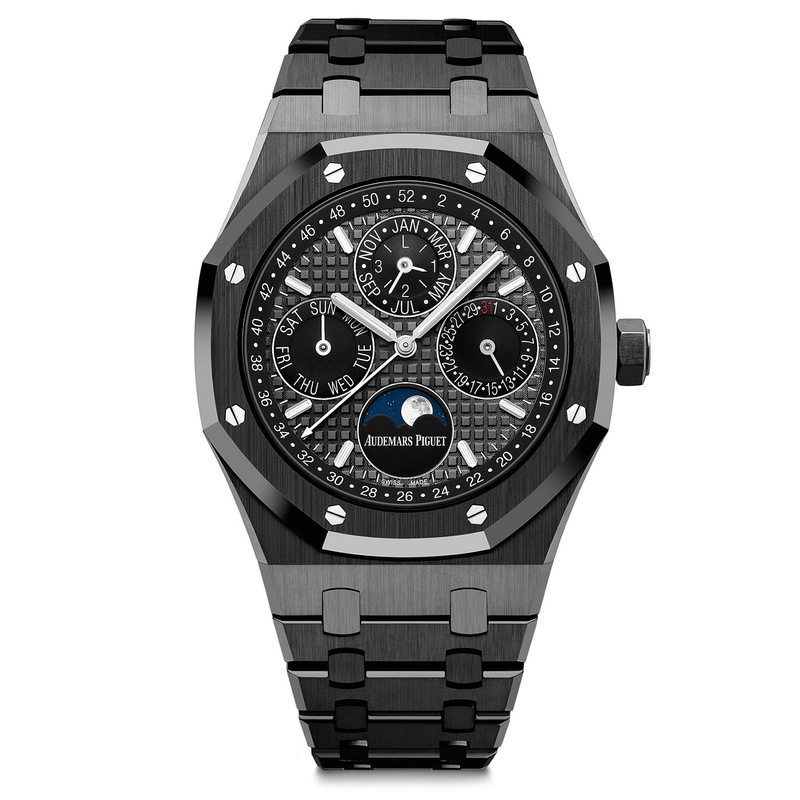 Nouvelle AP Royal Oak Perpetual Calendar Black Ceramic Aaaa_210