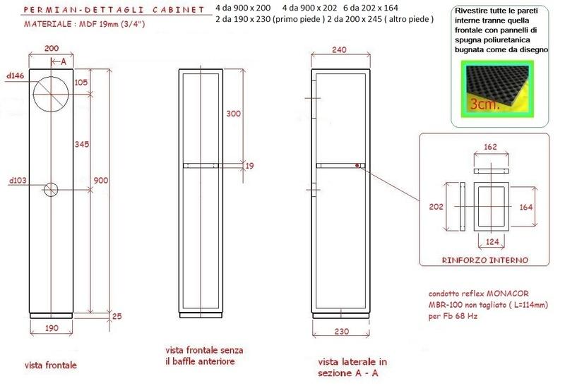 Pensil-R70.3 Mark Audio CHR-70.3 Diffus10