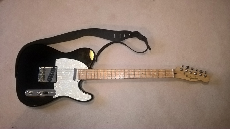Fender Telecaster will not stay in tune Wp_20110