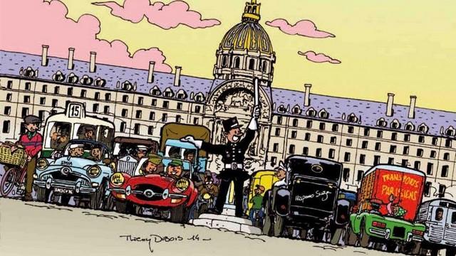 La Traversée de Paris - Dimanche 8 janvier 2017 (hivernale). Traver10