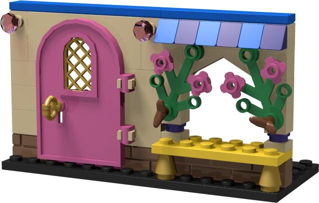 [MOC] Boîte de présentation Moi et mon dragon, en mini-maison de campagne Boitel10
