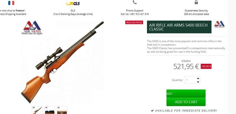 Conseil achat occasion PCP moins de 20 joules Air_ar10