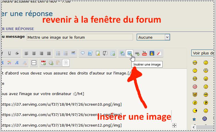 Comment naviguer sur le forum ? Screen13