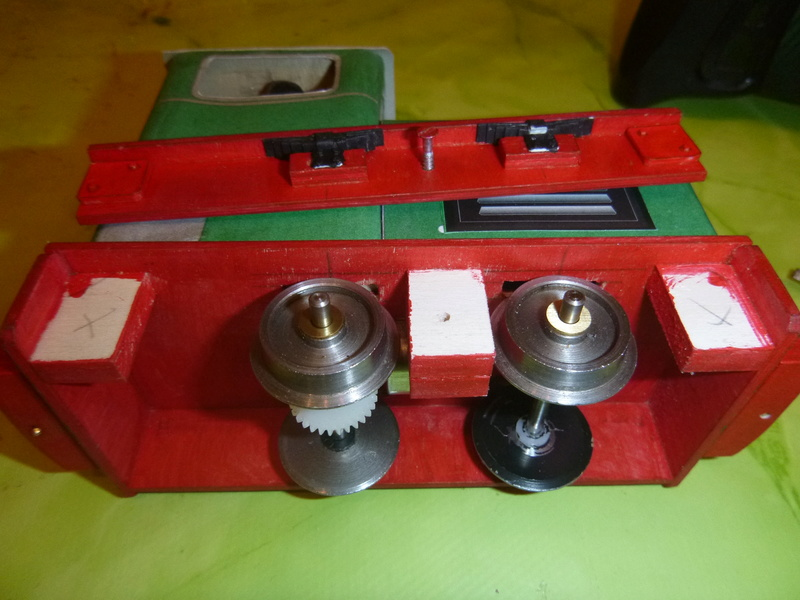 Feldbahnlok GLS 30 / Spurweite 32mm  P1050832