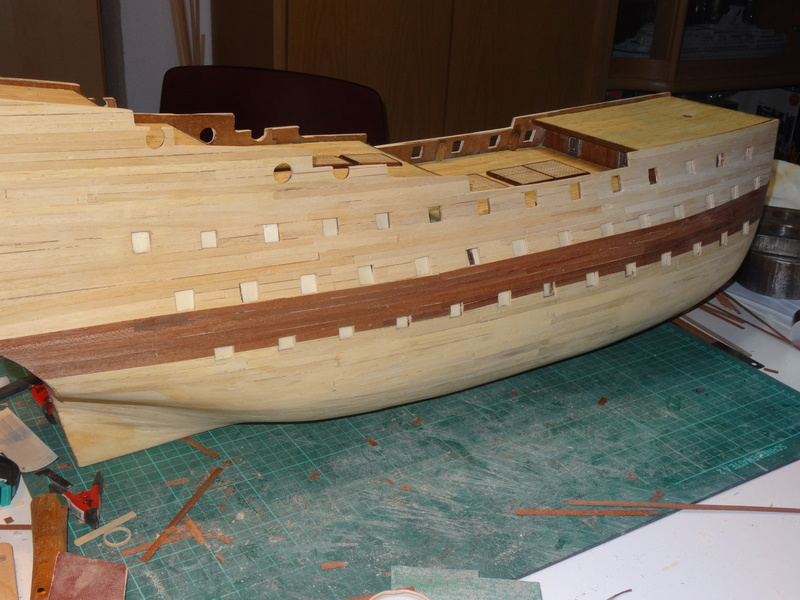 Le Soleil Royal von De Agostini 1 : 70 gebaut von Kurti - Seite 4 Dsc02611