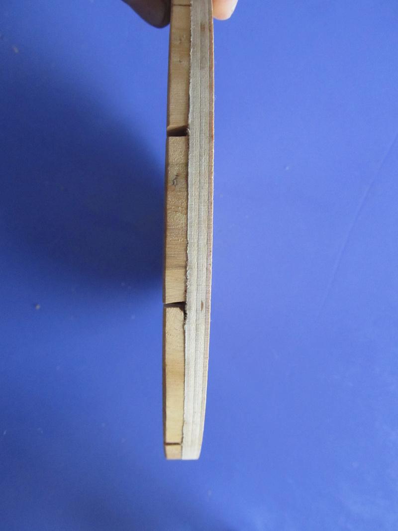 dessous de plat en rondelle de bois  Dessou12