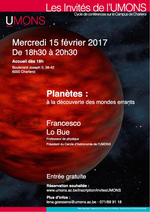Planètes : à la découverte des mondes errants (15-2-17) 16473910