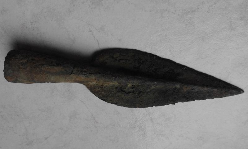 Pointe de lance âge du bronze final 20161112