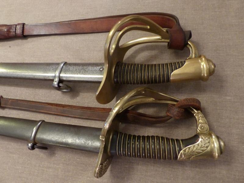 Sabres de dragon modèle 1882 d'officier et de troupe P1040611
