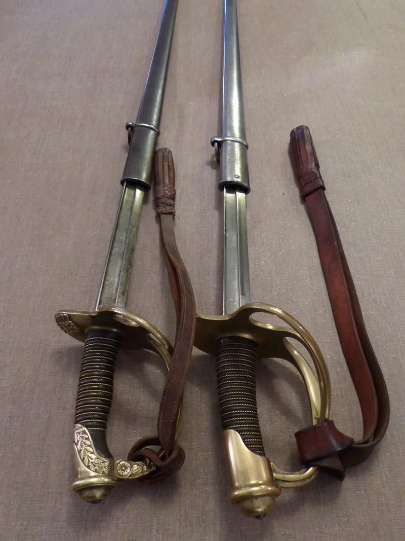 Sabres de dragon modèle 1882 d'officier et de troupe P1040612