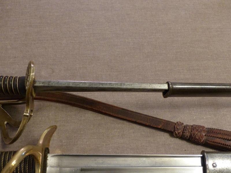 Sabres de dragon modèle 1882 d'officier et de troupe P1040613