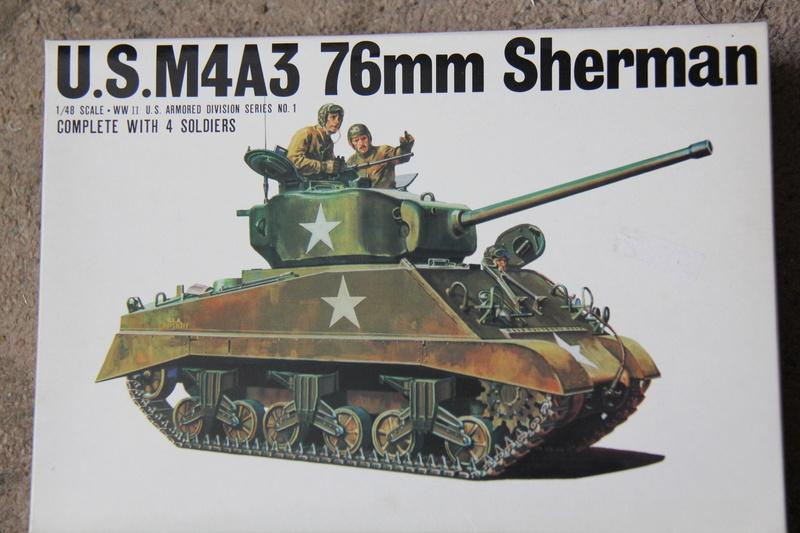 Sherman M4A3 76 - BANDAI - B1/48 09010