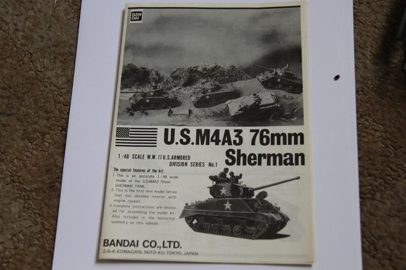 Sherman M4A3 76 - BANDAI - B1/48 09610