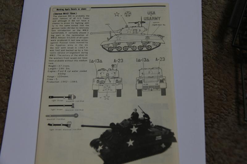 Sherman M4A3 76 - BANDAI - B1/48 09810