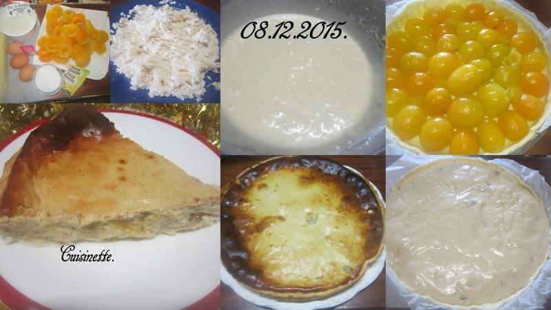 tarte à la brousse de vache et abricots. 12308310