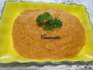 Purée de céleri rave et carottes. 12509210