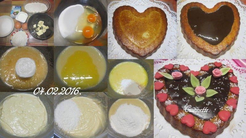 Gâteau St Valentin de noix de coco. 12670510