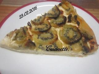 Tarte aux kiwis.mascarpone.   12742710
